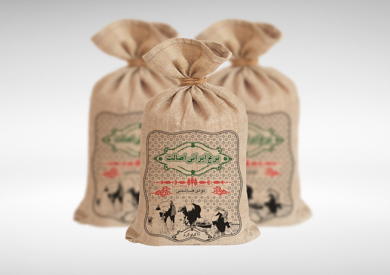 بسته بندی برنج اصالت